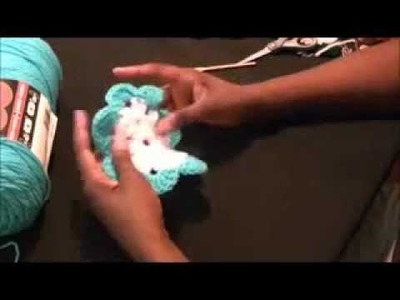 DIY Crochet Butterfly Magnets