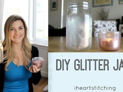 DIY Glitter Jars 2 Ways!
