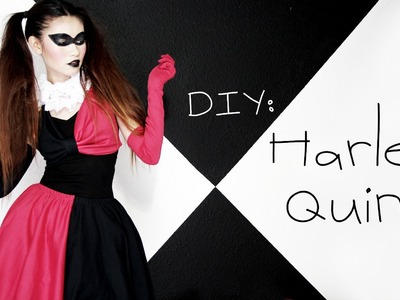 ♧ DIY: Harley Quinn Costume {Halloween}