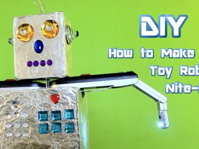 DIY How to Make a Toy Robot Nite-Lite