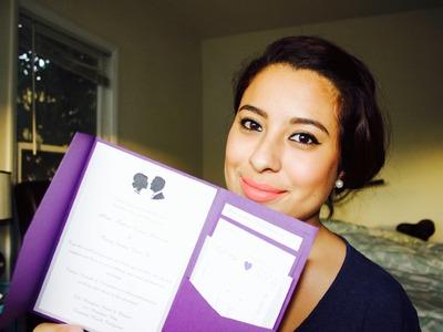 DIY Pocket Wedding Invitation! | Wedding Planning