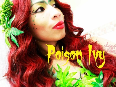 DIY: Poison Ivy Costume for $5 + Make up
