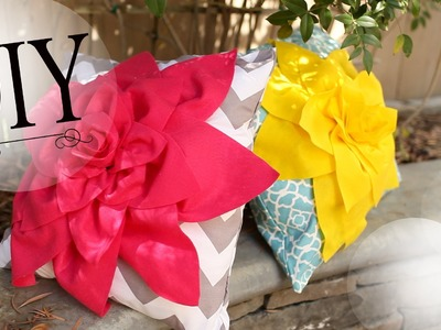 DIY Room Decor: How to Make a Cute Flower Pillow