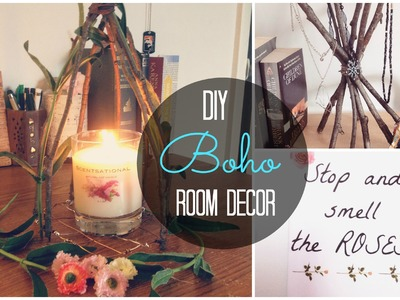 DIY Spring.Boho Room Decor | Cheap and Unique | Spirited Gal