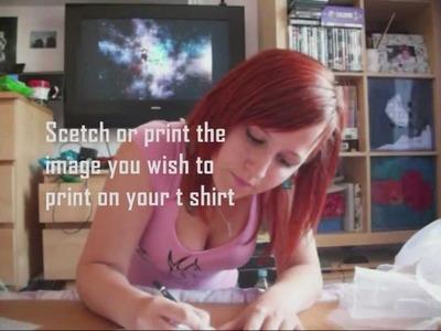 DIY T-Shirt Screen Printing at home!