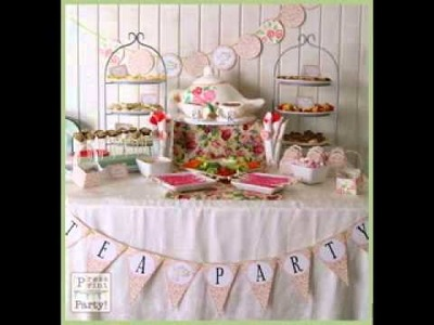DIY Tea party decor ideas