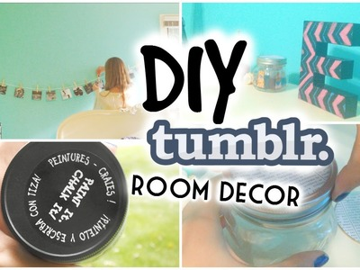 DIY Tumblr Inspired Room Decor ☼ Affordable & Adorable!