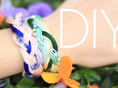 DIY Woven Friendship Bracelets