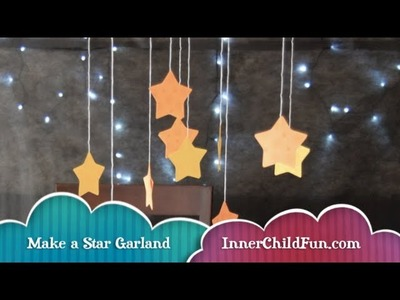 Easy Star Garland (No Mess Craft)