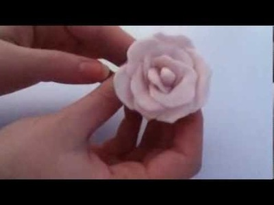 "Flower Tutorial: Air Dry Clay !(""o"")!"