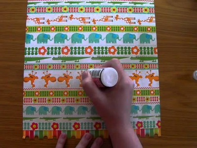 Glossy Accents - Embellishing Paper.wmv
