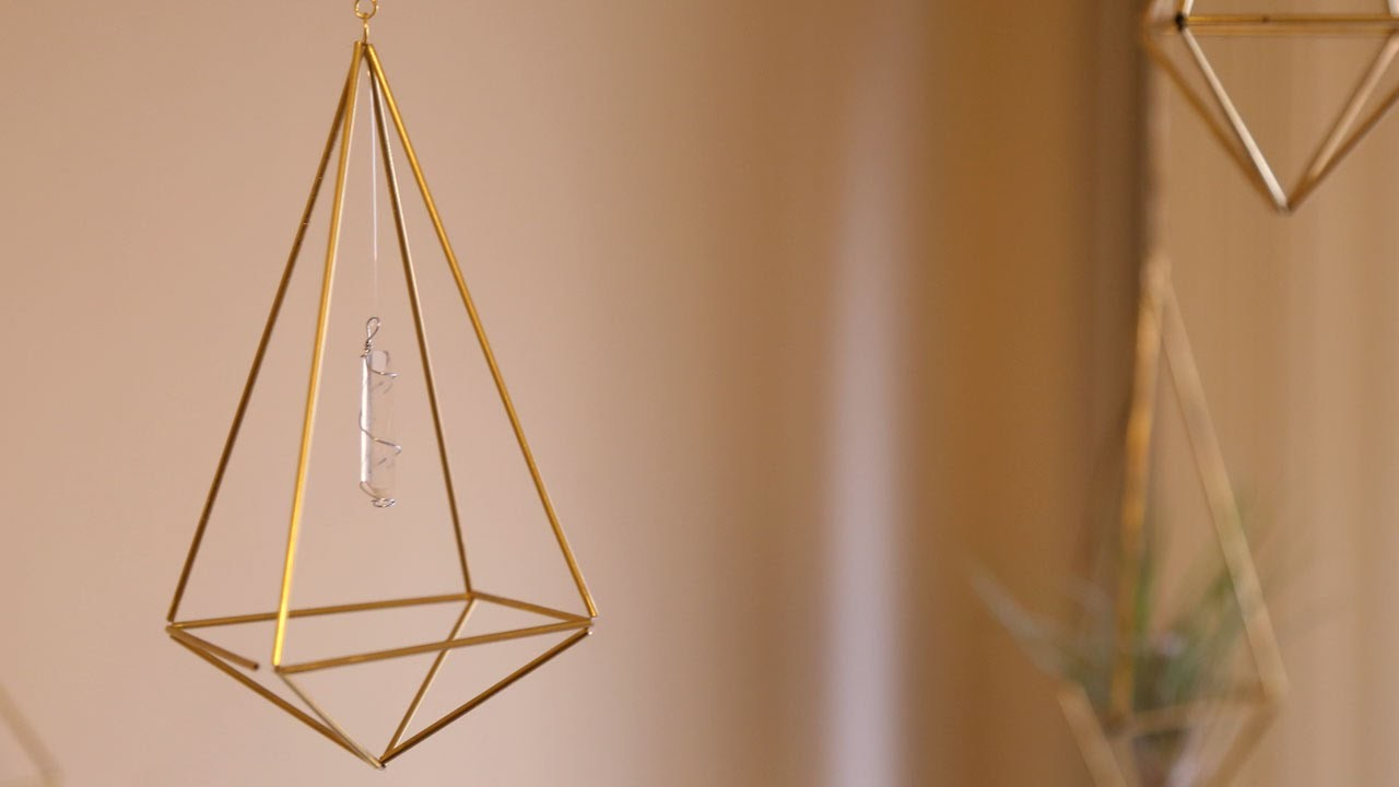 Himmeli Geometric Decor ♥ DIY