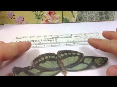 How To Make A DIY Paper Butterfly Necklace