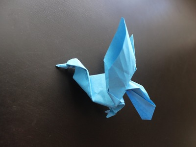 How to Make a Paper Bird (Pigeon) - Origami