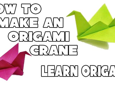 How to Make an Origami Crane - The Art of Paper Folding