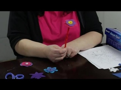 How to Make Felt Posies : Felt Craft Projects