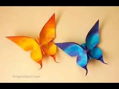 How to Make Origami Butterfly | Origami Paper | Origami Animals