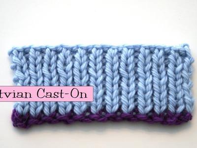 Knitting Help - Latvian Long-Tail Cast-On