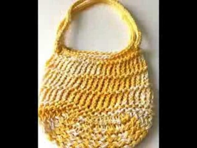 Loom Knit Bags by SparkleKnit