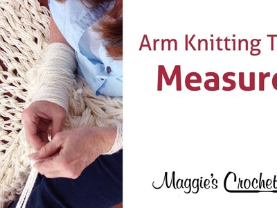 MAGGIE'S ARM KNITTING TIPS: Easy Measuring Long Tail for Cast On