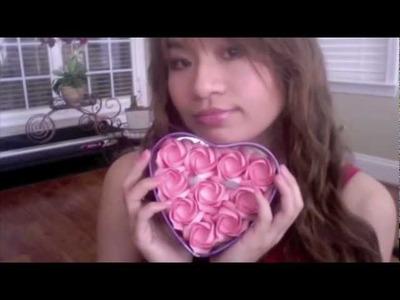 MeiIris' Origami Rose Valentine ❤ Chocolate Box