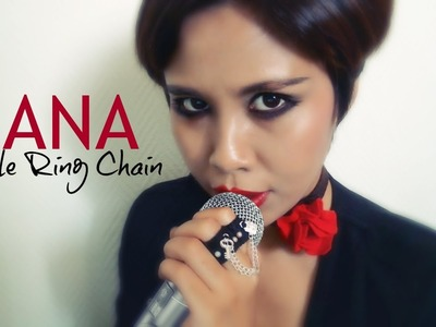 NANA : DIY Double Felt Ring Chain Fashion Tutorial