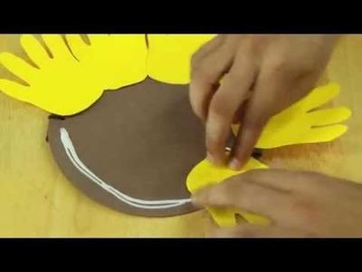 Nice flower mask crafts : Making Masks for Kid's Crafts