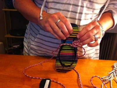 Paracord Flip Flops Tutorial with Mom's Lifesavers