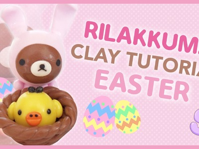 Rilakkuma Easter Basket | Polymer Clay Tutorial