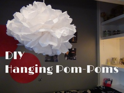 Room Decor: DIY Pom Poms
