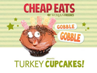 Thanksgiving Turkey Cupcakes - an Affordable and Adorable Dessert!