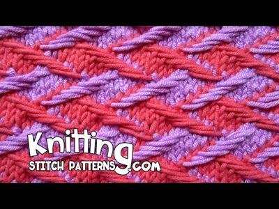 Two color Jacquard Stitch