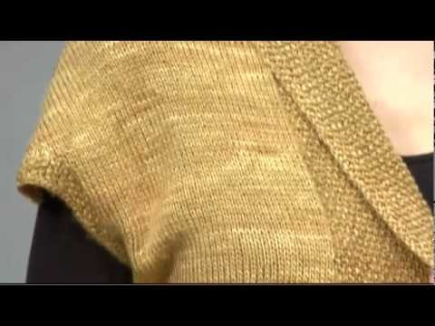 #19 Sleeveless Cardigan, Vogue Knitting Fall 2009