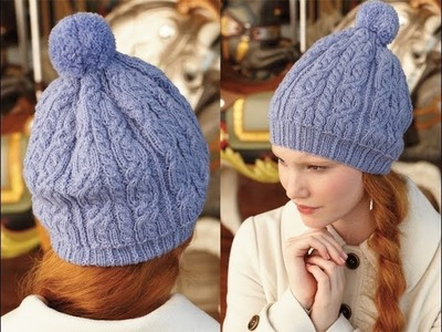 #26 Cabled Toque, Vogue Knitting Holiday 2012