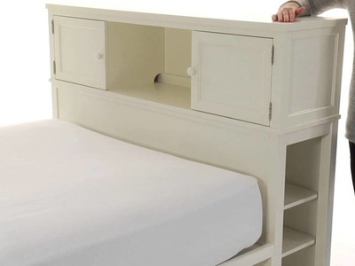 Add Function and Style to Teen Room Decor with Beadboard Storage Beds |