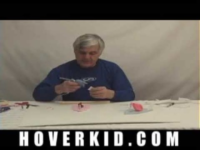 Build a balloon powered hovercraft. Easy to build, DIY project for kids and students - PART-2