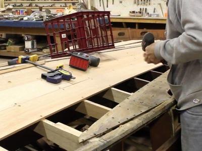 Chris Craft Barrel Back ep 2 Frame and Bottom Repair