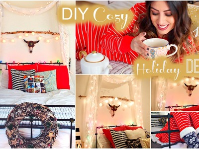 DIY Cozy Holiday Room Decor: Tumblr & Christmas