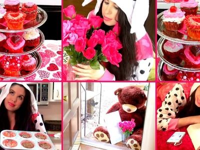 ♥ DIY Valentine's Day Cupcakes ♥ DIY Cupcake Stand & Gift Ideas! ♥