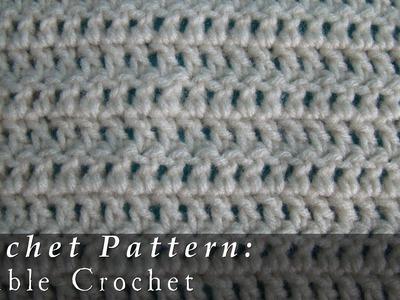 Double Crochet  | Pattern  |  Crochet Challenge 3.63