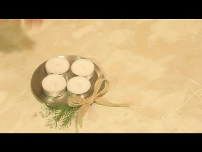 Easy Tealight Candle Holder Craft Projects : Easy Crafts