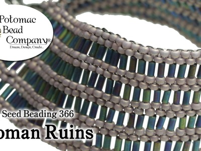 How to Make a Roman Ruins Bracelet (Seed Beading 366)
