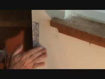 How to repair sheetrock cornerbead. Part 1