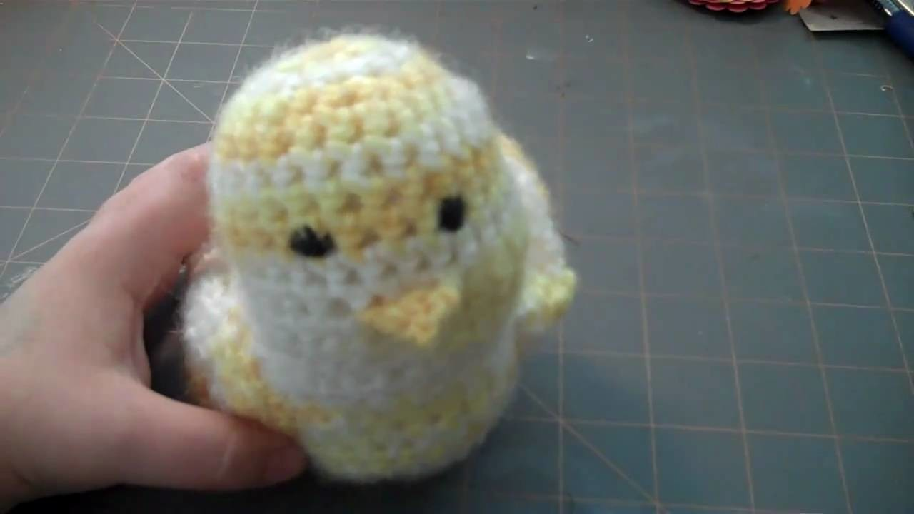 Jan Video Challenge 25.31 - Crochet Bird