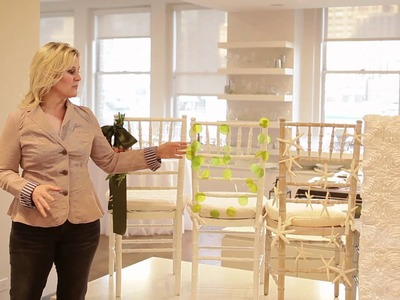 Karen Bussen: DIY Wedding Series - Chair Accents for Your Celebration
