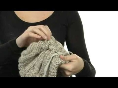 Laundry by Shelli Segal Platine.Solid Cable Knit Slouchy Beanie w SKU: #7895709
