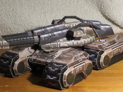Mammoth Mk. III papercraft | command & conquer 3: Tiberium Wars