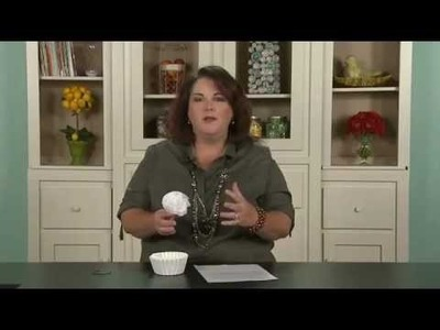 My Craft Channel: Tip of the Day - Coffee Filters (Lori Allred)