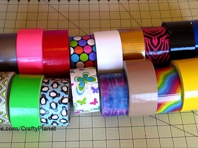 My Duct Tape Rolls Collection - 19 different!! (Duct Tape Crafts, Duct Tape Tutorial, Duck Tape)