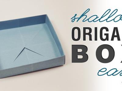 Origami Shallow Masu Box - Easy